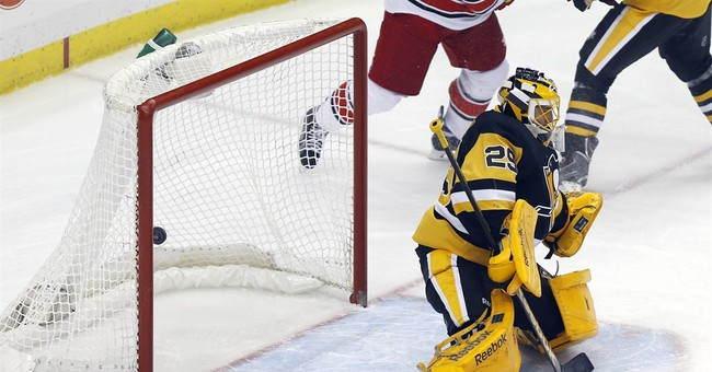 Sutter's goal lifts Penguins over Hurricanes 2-1