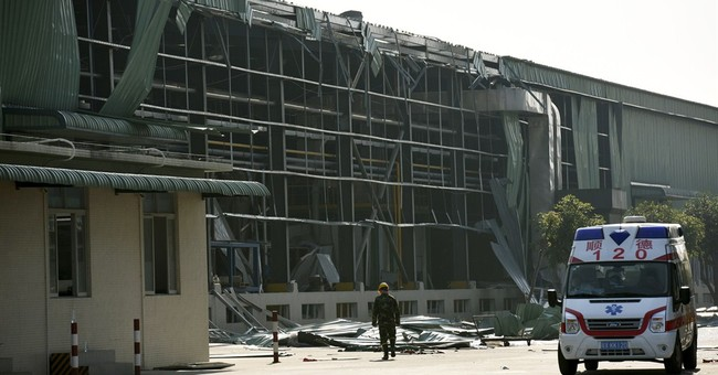 Gas explosion at Chinese factory kills 17