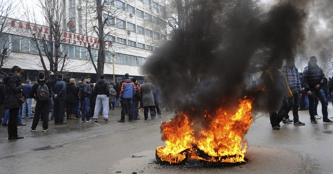 Bosnia privatization protests reach other cities