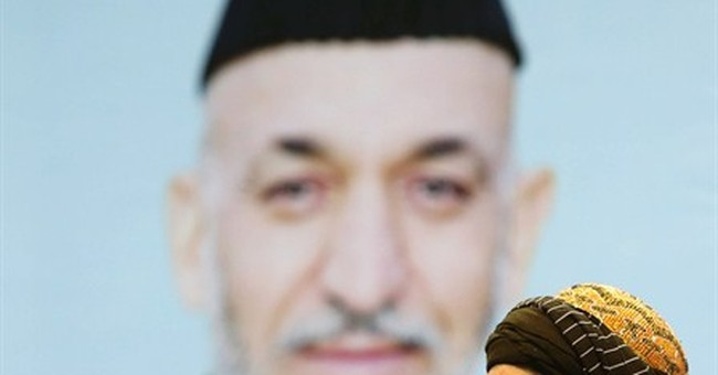 Former warlord launches campaign to succeed Karzai