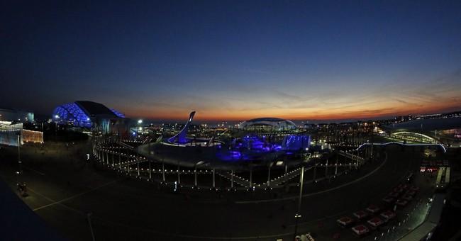 SOCHI SCENE: Sunset before opening