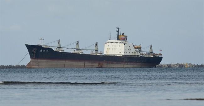 N Korea ship free to leave Panama; fine paid