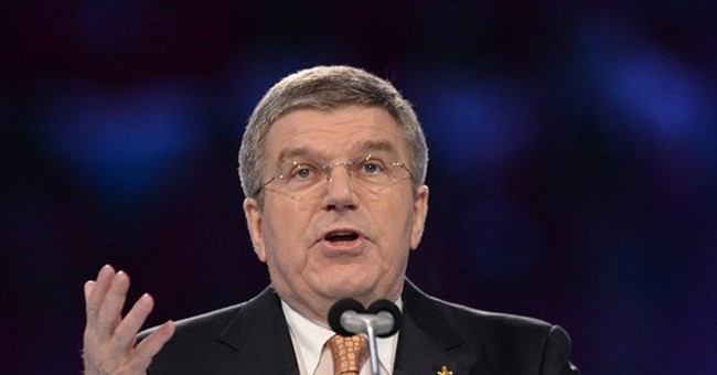 SOCHI SCENE: Bach jabs at Bush