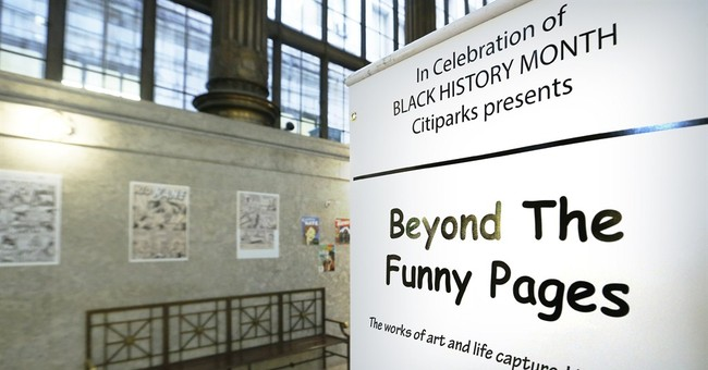 Pa. exhibit highlights early black comic artists