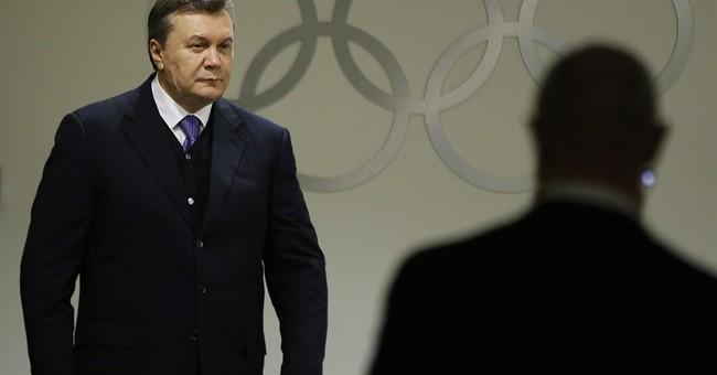 Putin meets Ukraine's Yanukovych in Sochi