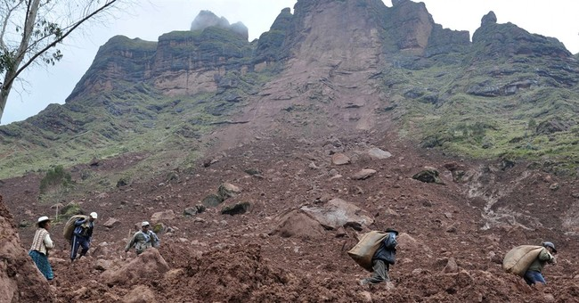 Bolivia mudslide buries village; 4 dead, 9 missing