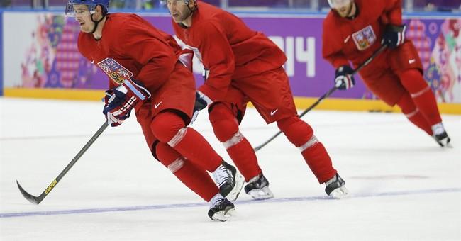 SOCHI SCENE: Russia's hockey focus