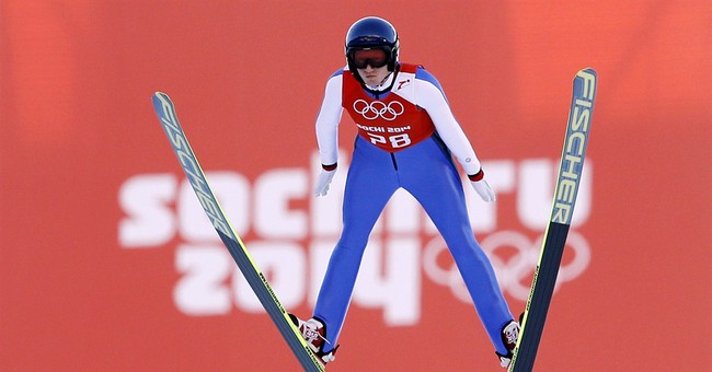 Gay ski jumper says protests aren't worth it