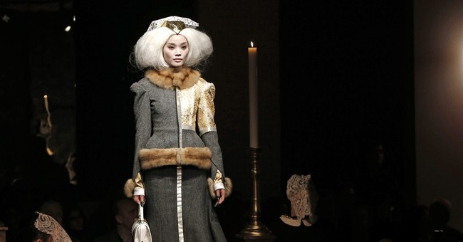 Fashionistas worship at the church of Thom Browne