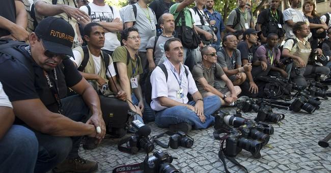 Brazil journalist brain-dead after protest injury