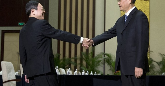 China, Taiwan hold historic talks in Nanjing
