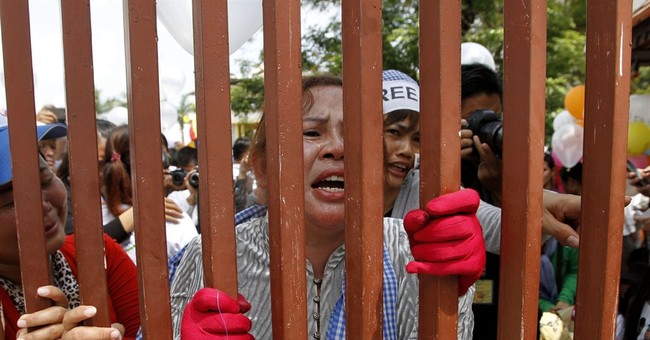 Cambodian court rules against bail for protesters