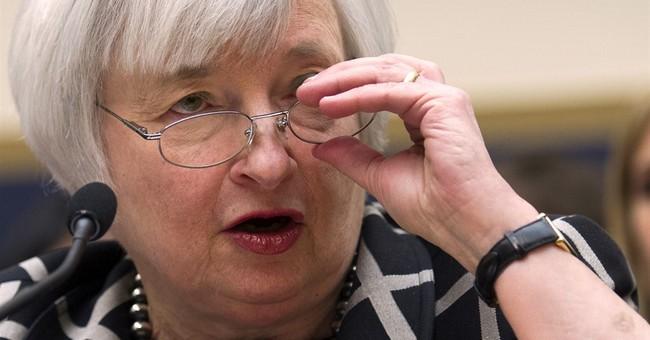 Markets post big gains as Yellen signals low rates