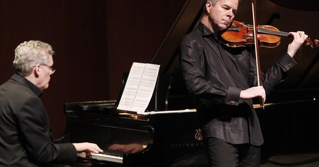 Concertmaster relieved Stradivarius in good shape
