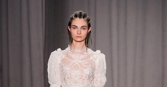 Red-carpet looks inspired by Scotland at Marchesa