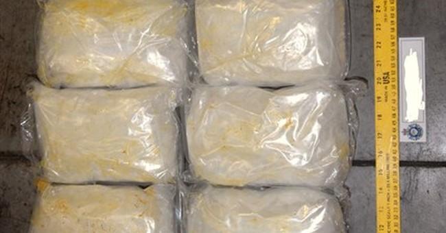 Australian police seize $160 million worth of meth
