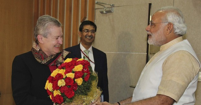 US ambassador meets India's opposition leader