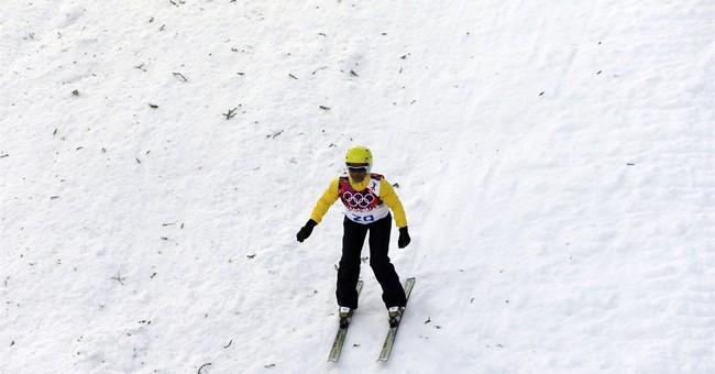 SOCHI SCENE: Dirty snow