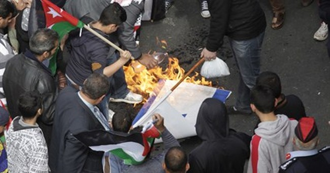 Jordan Islamists protest as king meets Obama