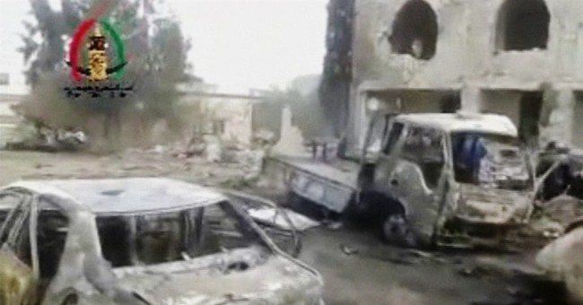 Car bomb outside mosque in Syria kills dozens