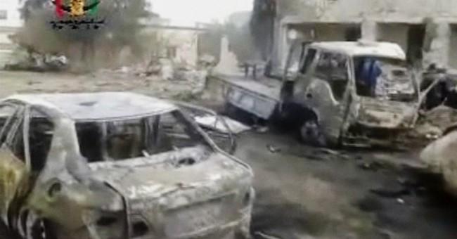 Car bomb outside mosque in Syria kills dozens