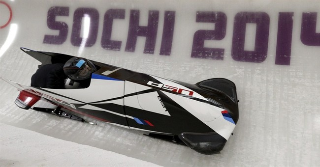 SOCHI SCENE: Bobsled couple