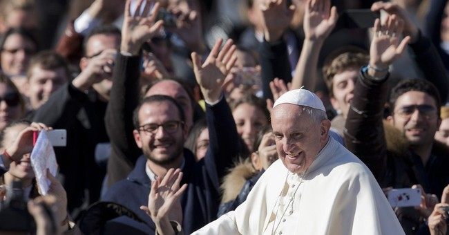 Pope's marriage recipe: 'Please, thanks, sorry'