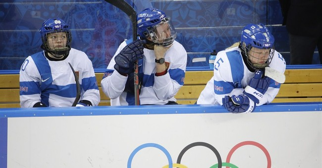 SOCHI SCENE: Finnish tears