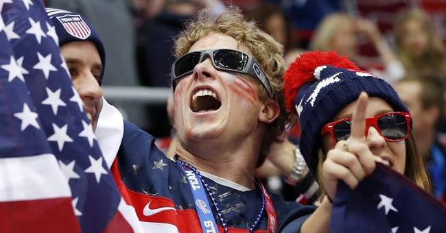 SOCHI SCENE: USA fans on their own