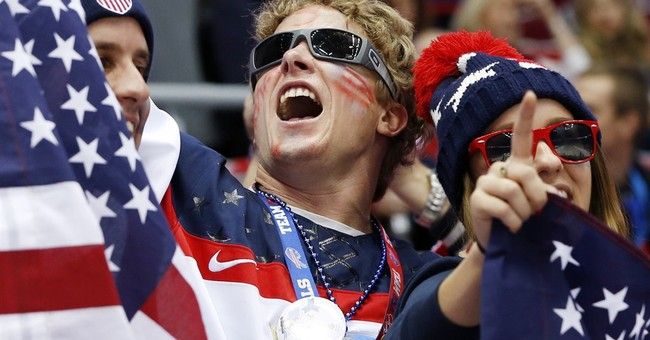 SOCHI SCENE: USA fans on their own