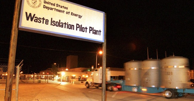 NM nuclear repository monitored for radiation