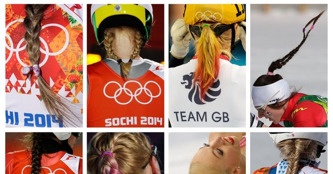 SOCHI SCENE: Olympic hair