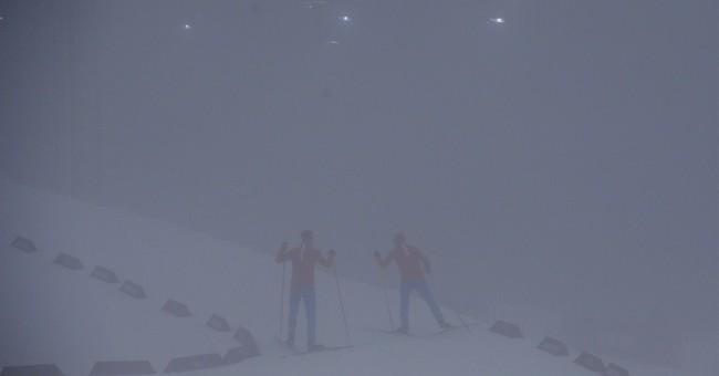 SOCHI SCENE: A fog rolls in
