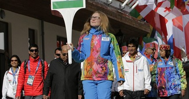 India's flag unfurled at Sochi Olympic village