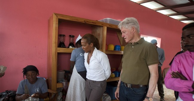 Bill Clinton in Haiti to visit projects