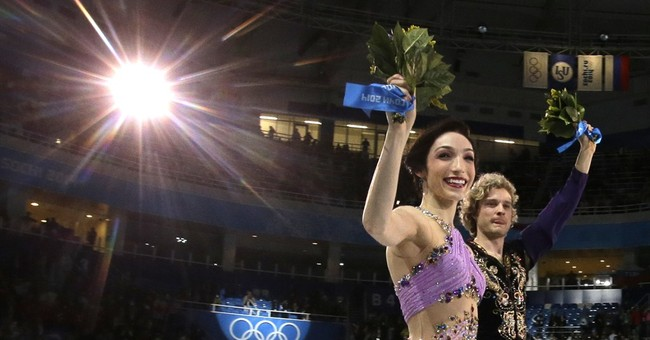 SOCHI SCENE: Gold on ice