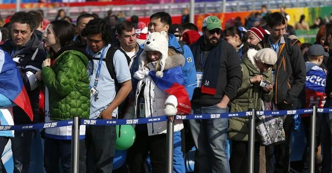 SOCHI SCENE: Sochi souvenirs? Get in line