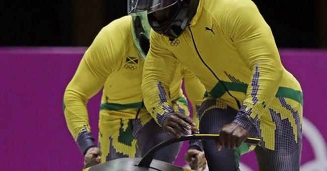SOCHI SCENE: Bolt the bobsledder?