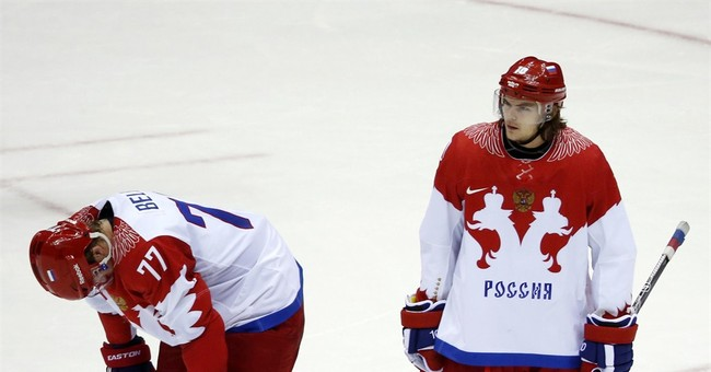 SOCHI SCENE: Heartbreak in Russia