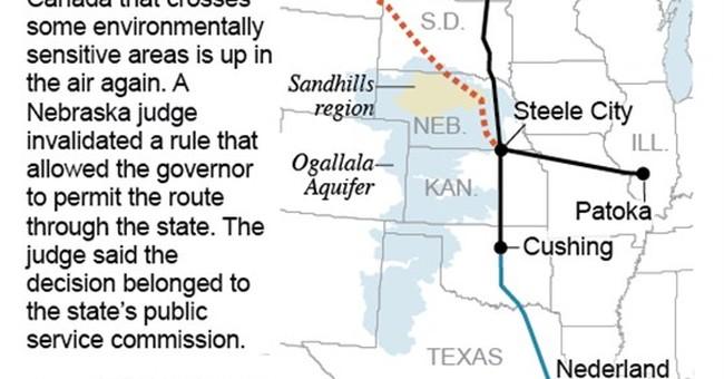 Nebraska ruling mires Keystone XL in legal limbo