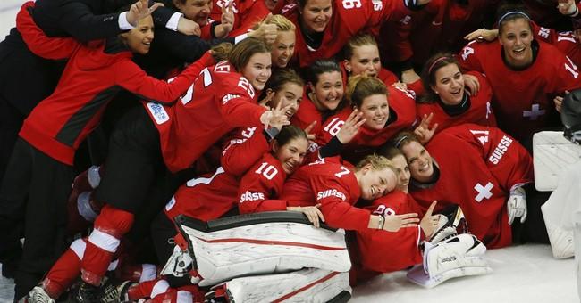 SOCHI SCENE: Switzerland celebrates bronze