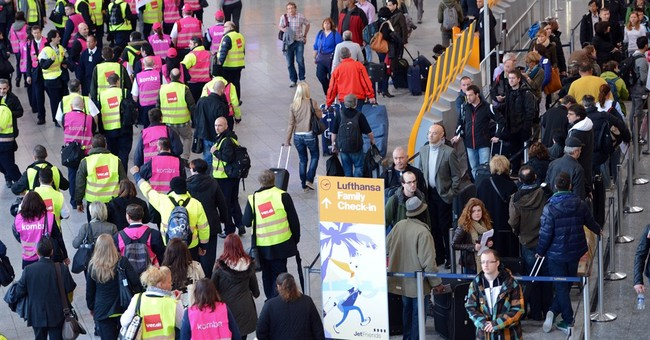 Frankfurt airport partially shuts due to strike