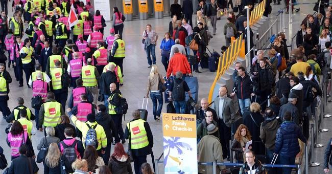 Frankfurt airport partially shuts due to strike