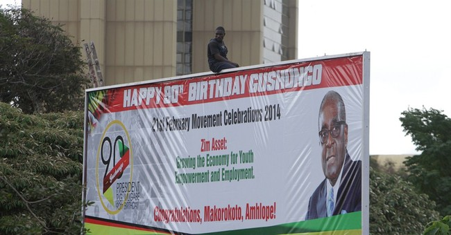 Zimbabwe's President Robert Mugabe marks 90 years