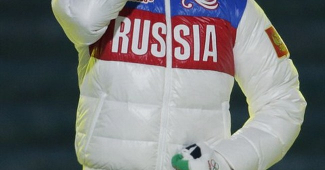 SOCHI SCENE: Sealed with a kiss