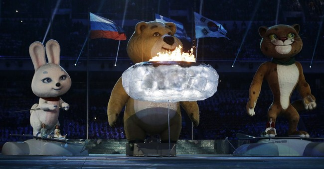 SOCHI SCENE: Flame out
