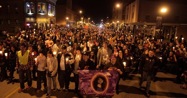 Thousands pay tribute to slain Mo. 10-year-old