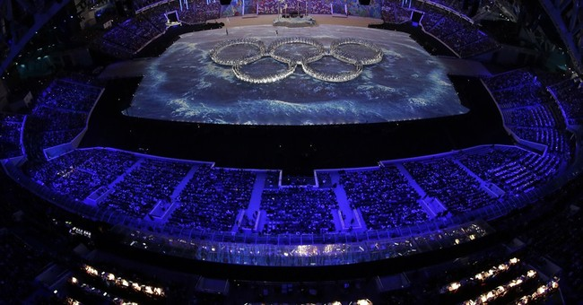 SOCHI SCENE: Rings, take 2