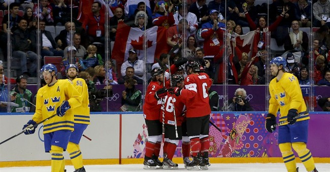 SOCHI SCENE: Ho-hum gold game?
