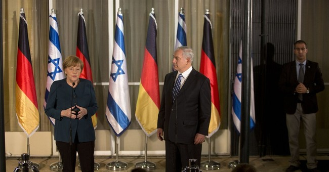 German Chancellor Angela Merkel visits Israel